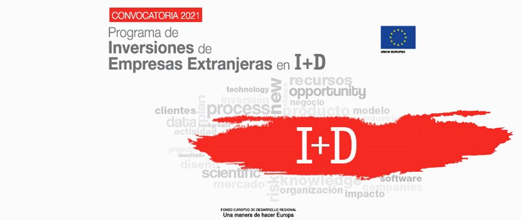 Programa de inversiones de Empresas Extranjeras en Actividades de I+D+i 2021